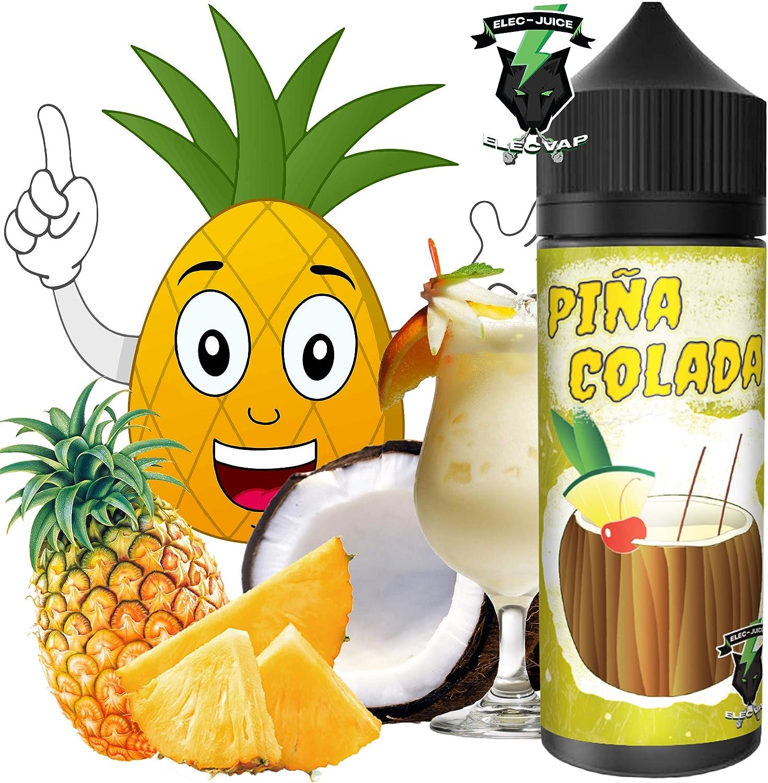 E-Liquid OASIS PIÑA COLADA de ElecVap - Sin Nicotina - 120ml formato TPD - 0MG Nicotina - E-Liquido para Cigarrillos Electronicos - E Liquidos para Vaper