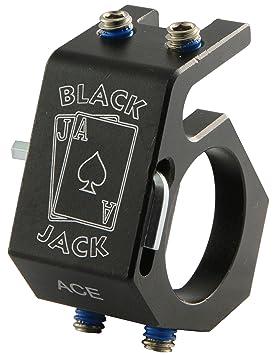 Blackjack Ace bombero casco linterna de aluminio Holder: Amazon.es: Bricolaje y herramientas