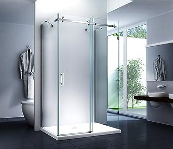 Duschkabine Schiebetur Schiebe System Dusche U Form Dilara 120 X