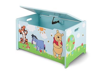 Mobili Portagiochi Per Bambini : Delta baule portagiochi per bambini winnie the pooh in mdf: amazon