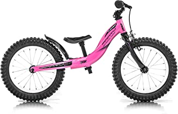 Monty 202 Bicicleta, Unisex niños, Rosa, Talla Única: Amazon.es ...