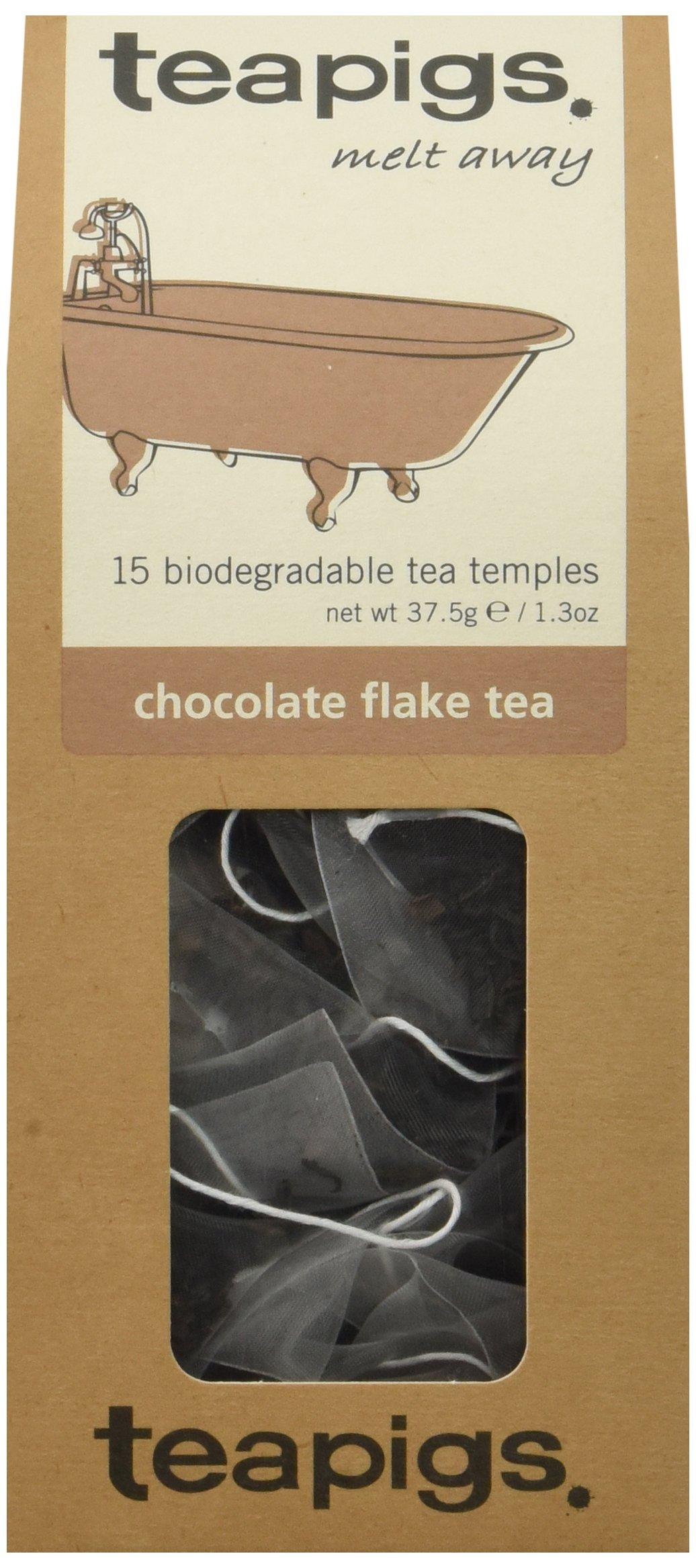 teapigs Chocolate Flake Tea, 15 Count (Pack of 6) by teapigs