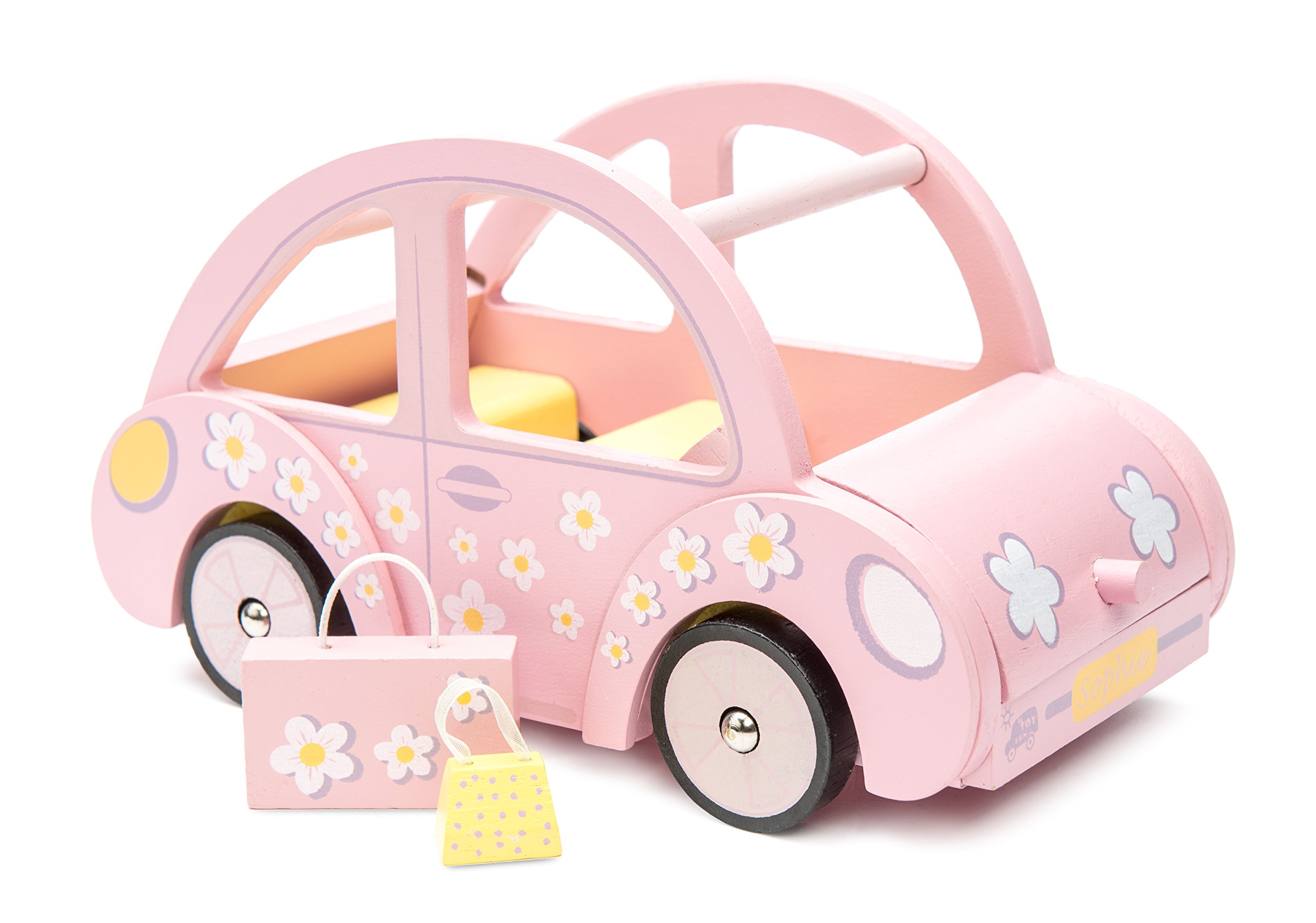 Le Toy Van Daisylane Sophie S Car Toy Wooden Car Accessories Play Set For Dolls Houses Girls Or Boys Dolls House Furniture Sets Suitable For Ages 3 Buy Online