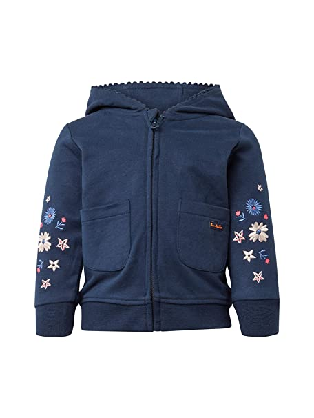 TOM TAILOR Baby Mädchen Sweatjacket Placed Print Sweatjacke