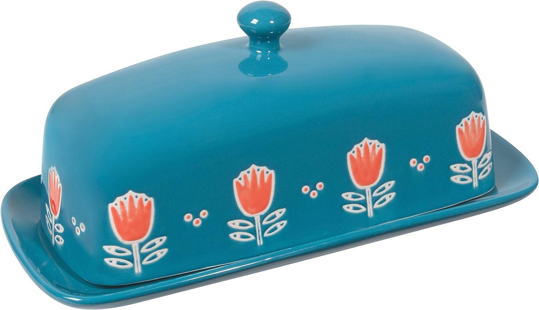 Now Designs Butter Dish, Tulipa Design