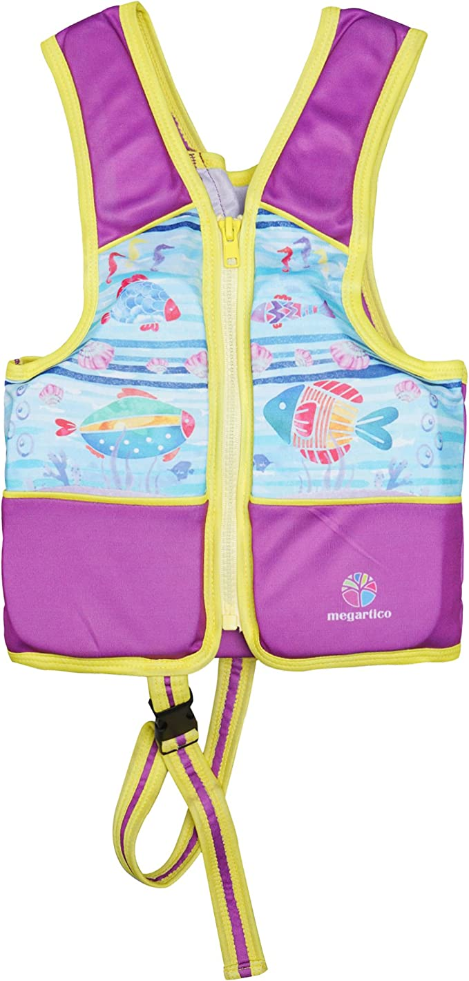 Kids Children Inflatable Bee Swimming Pool Beach Float Training Vest Aid Jacket