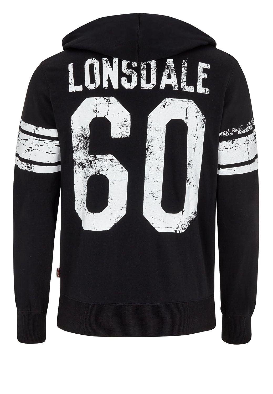 Lonsdale - Chaqueta deportiva - para hombre negro XL: Amazon.es: Ropa y accesorios