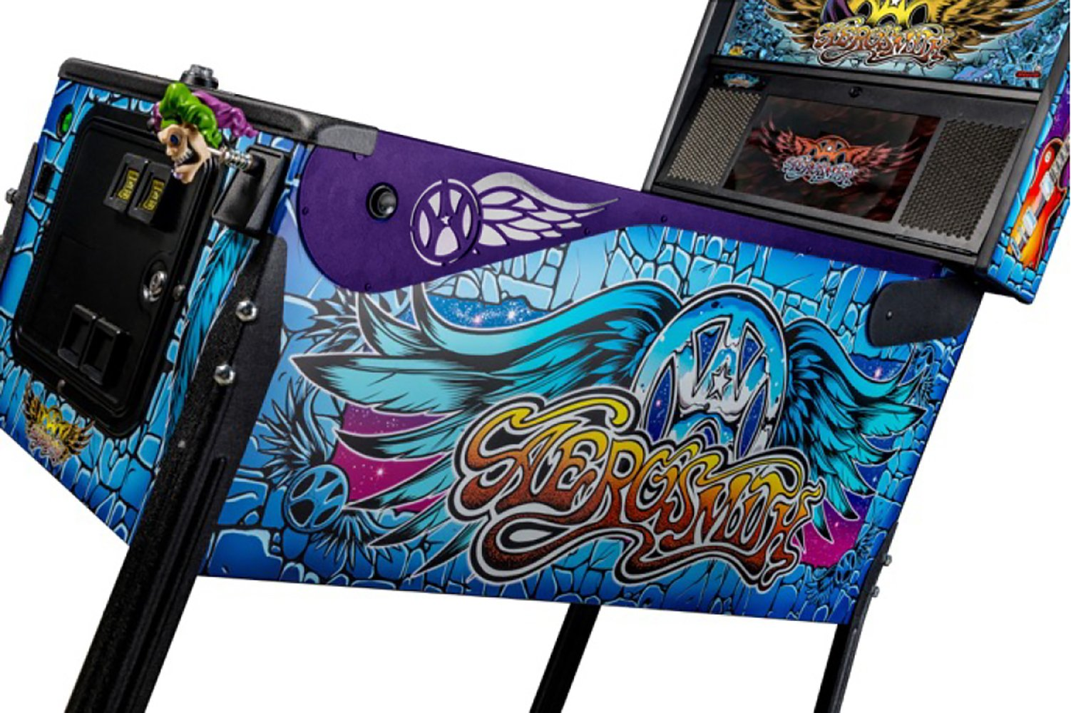 Stern Aerosmith Pinball Side Armor Kit - Purple