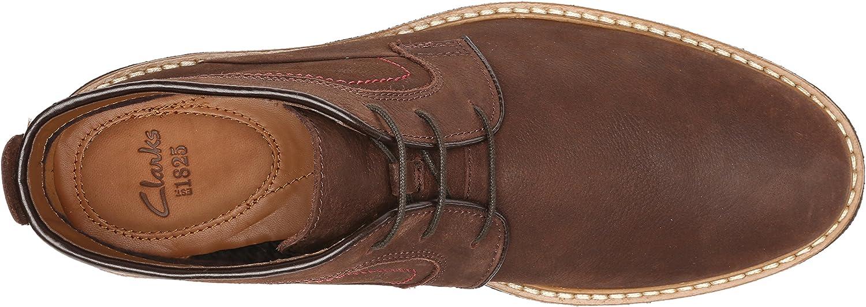 Clark/'s Hommes Newkirk UP GTX Classique Cheville Bottes en cuir marron U K 13 H//48