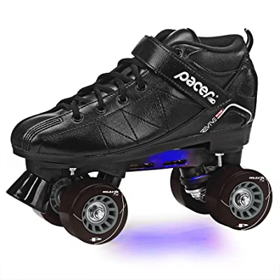 Pacer Revive Light-Up Roller Skates : Sports & Outdoors