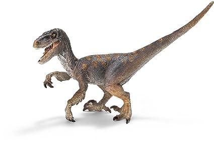 amazon com schleich velociraptor schleich toys games