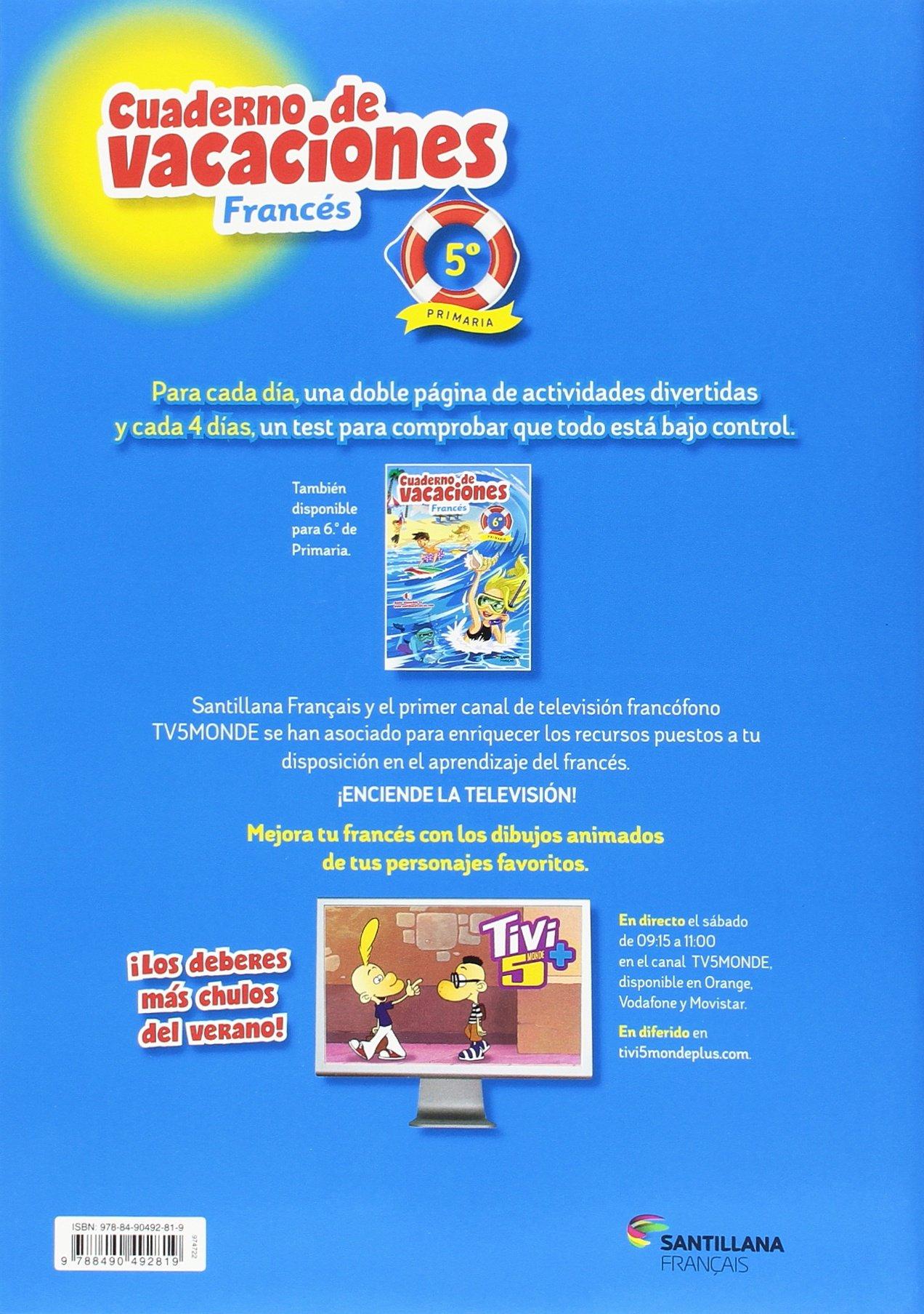 Amazon.com: VACACIONES FRANCÉS 5 PRIMARIA (9788490492819 ...