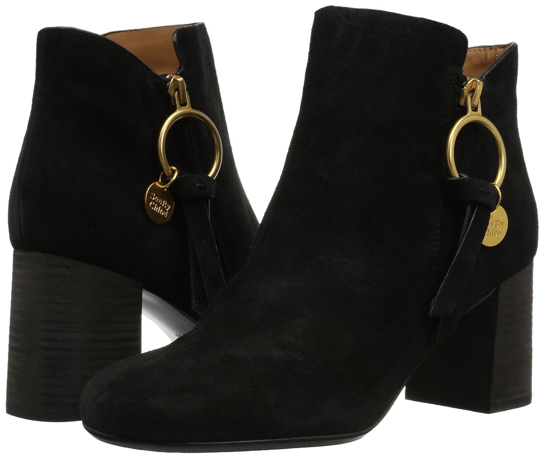 See by Chloé Women's Louise Midheel Ankle Boot B072K6Y2SQ 39.5 M EU (9.5 US)|Black