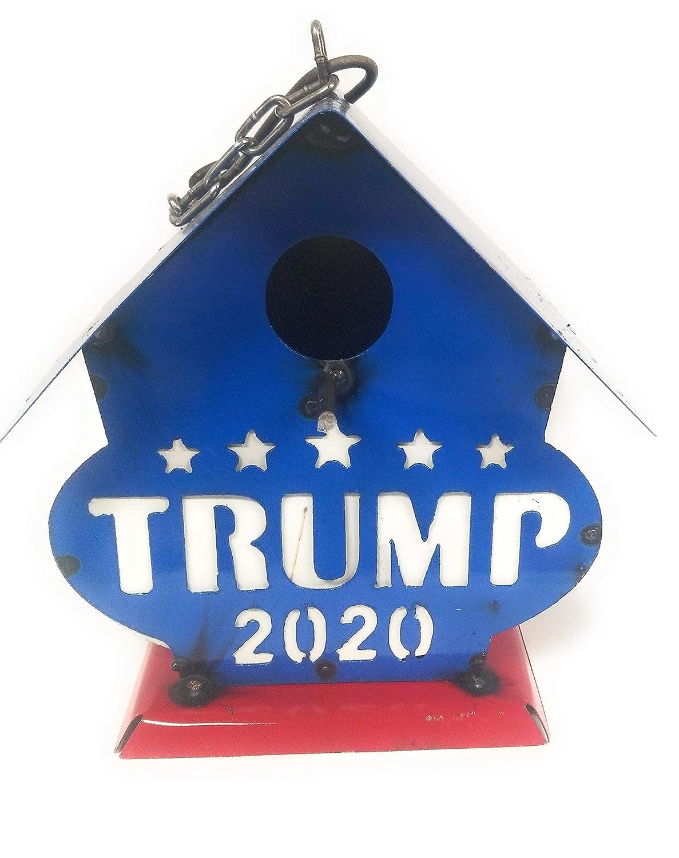 Trump 2020 Metal Hanging Birdhouse