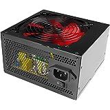 Mars Gaming MP1000 - Fuente de alimentación (1000W, 200 - 240V, 50 - 60 Hz, 14 cm, Activo, 20+4 pin ATX) color negro