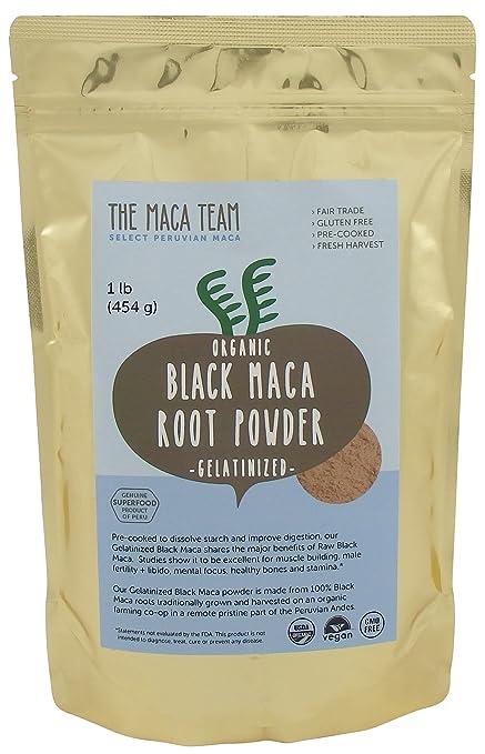 Black Maca Root Powder