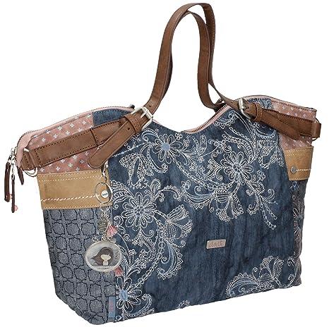 Sany Bags S.L. Anekke Moon Hobo Bag Bolso de Viaje, 49 cm, Beige