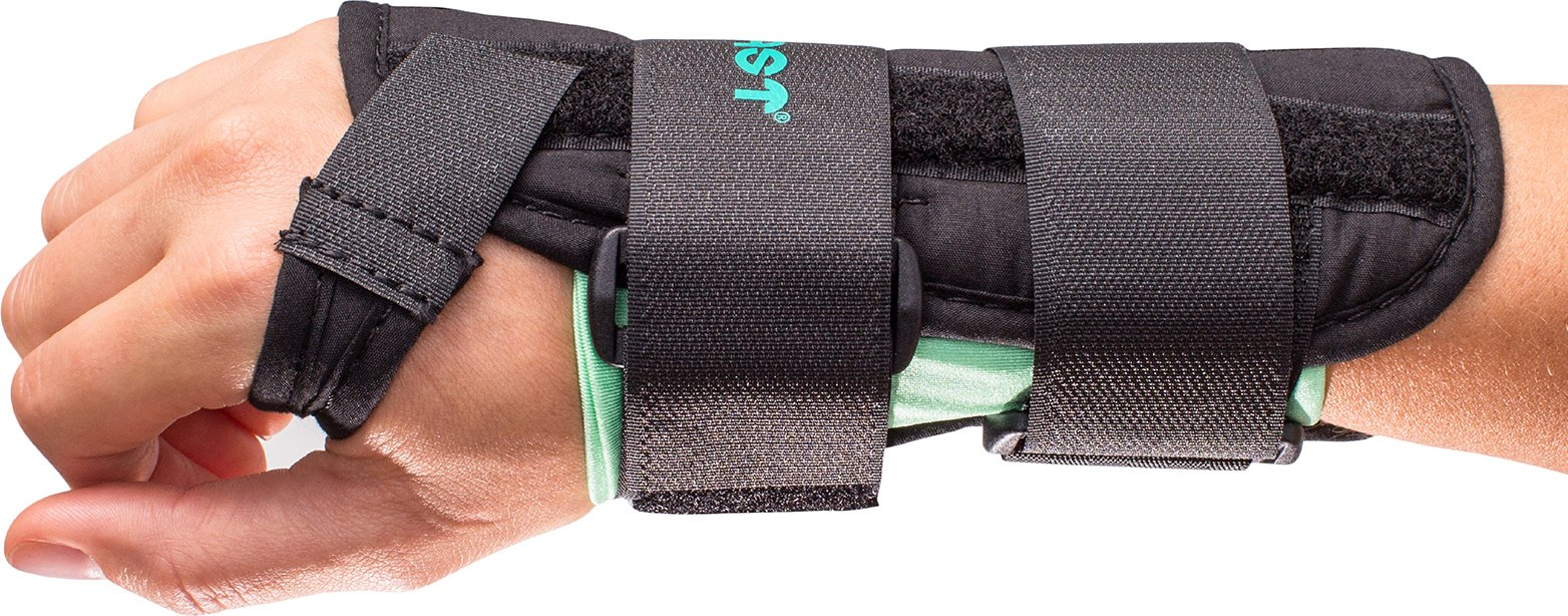 Aircast A2 Wrist Support Brace Without Thumb Spica: Right Hand, Medium