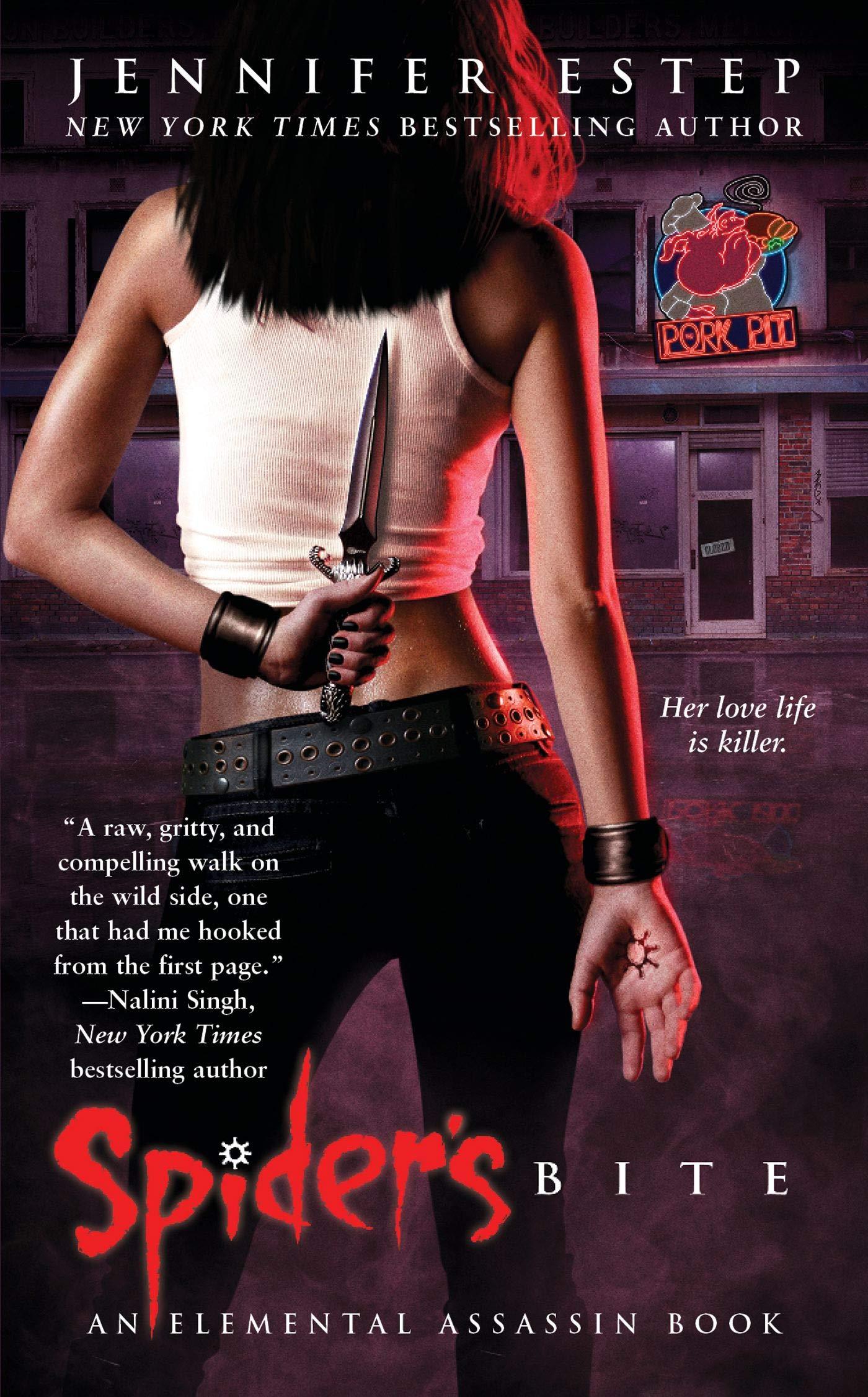 Ebook The Spider Elemental Assassin 10 By Jennifer Estep
