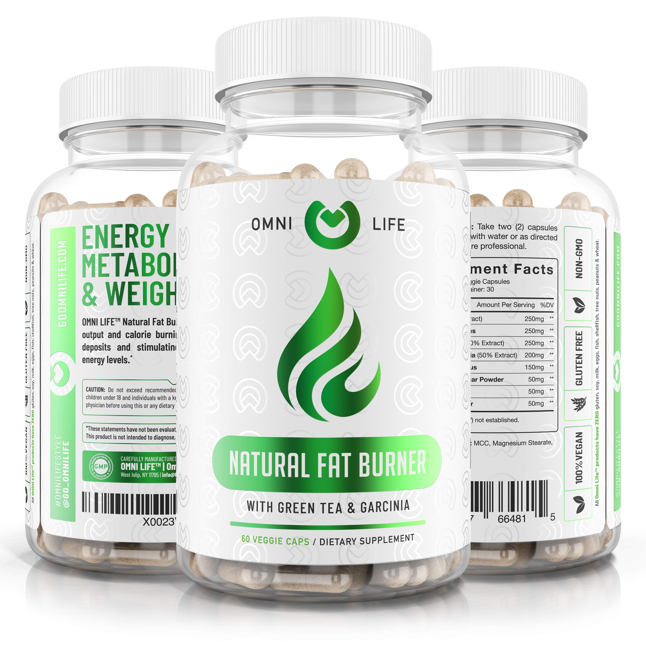 Fat Burner Diet Pills - Premium Natural Weight Loss & Energy Booster Supplement with Raspberry Ketones, Caffeine, Garcinia Cambogia - Advanced Thermogenic Fat Burner Pills for Ketosis - 60 Capsules