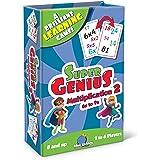 Blue Orange Super Genius - 乘法 2 张卡片游戏
