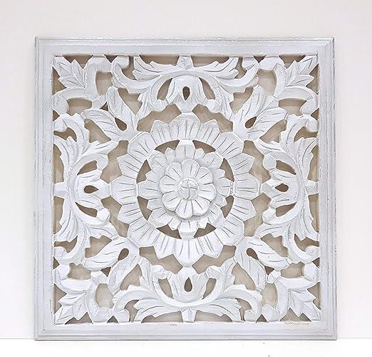 Mandala de Pared, Fabricada artesanalmete en España, tamaño 40x40 ...