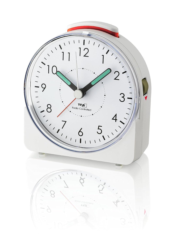 TFA-Dostmann 60.1513.02/R/éveil analogique 10.2/x 4.6/x 11/cm blanc plastique