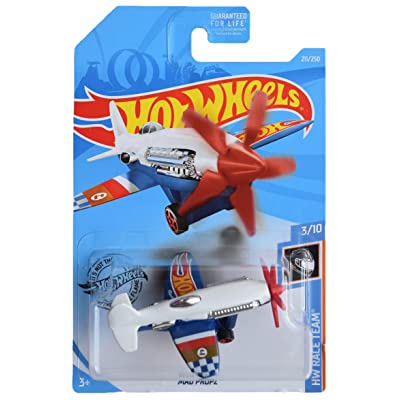 Hot Wheels Race Team Series 3/10 Mad Propz 211/250, White: Toys & Games