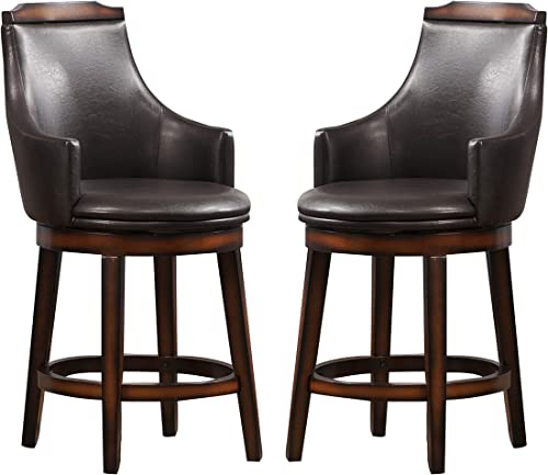 Homelegance Swivel Counter Height Chair