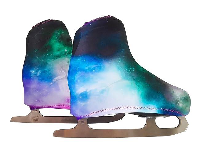 Funda Cubre patines para patinaje artistico sobre ruedas o sobre hielo, impresión GALAXY