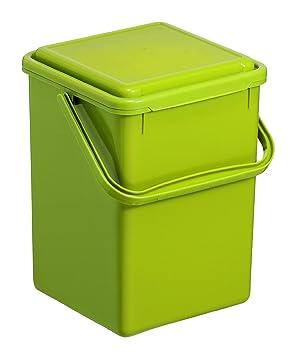 Rotho 1775505519 Komposteimer Bio, Abfallbehälter für die Küche aus ...