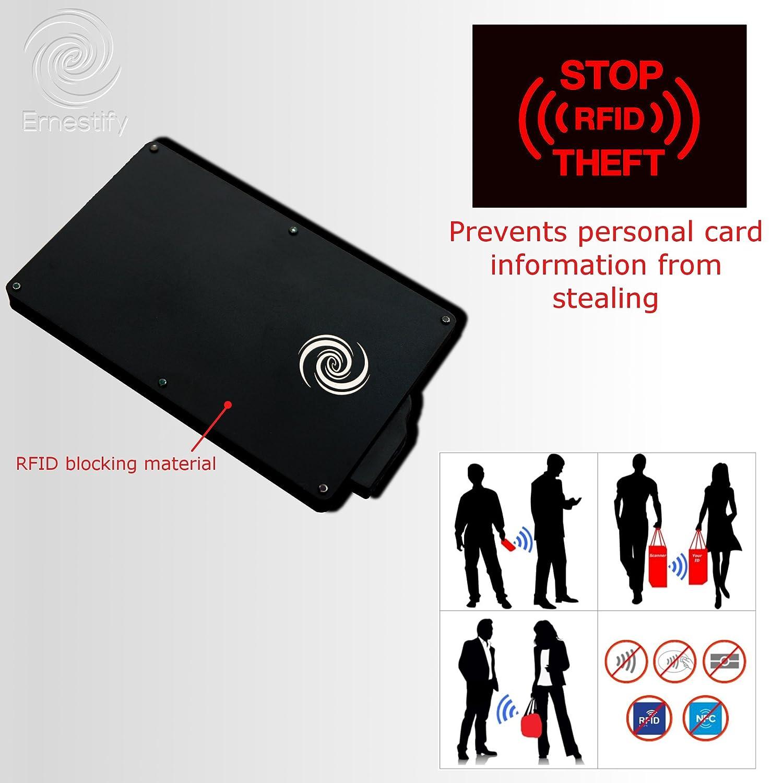 Kleidung & Accessoires Geldbörsen & Etuis Ernst Rfid Blocking Credit Bank Card Id Holder Ejector Wallet Slim Protector Case