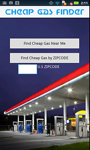 Cheapest Gas Station Near Me >> Cheap Gas Finder