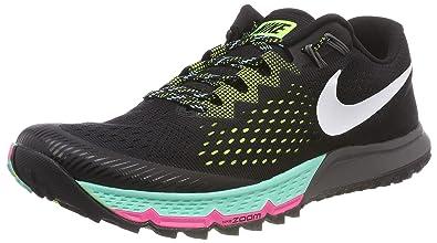 finest selection 4b81c 0e2f0 Nike Air Zoom Terra Kiger 4, Chaussures de Running Compétition Homme, Noir  (Schwarz