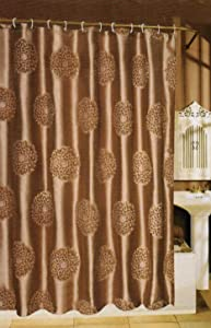 Dahlia Fabric Shower Curtain 70Wx72L