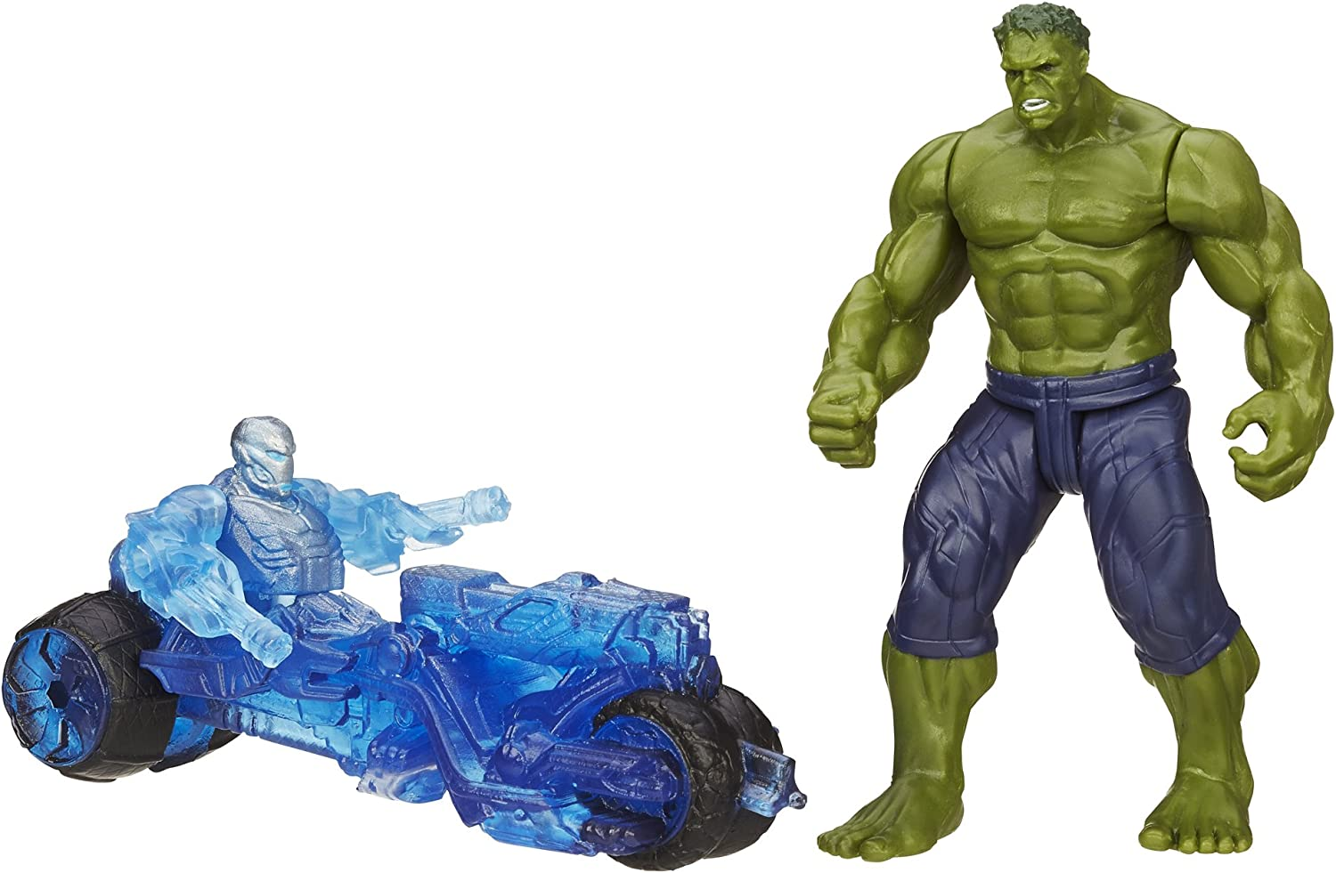 Marvel Avengers Age of Ultron Hulk Vs. Sub-Ultron 003 Figure Pack: Amazon.es: Juguetes y juegos
