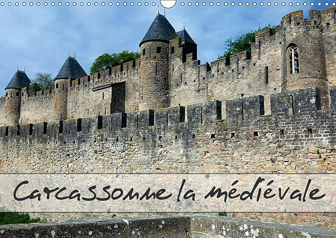 Carcassonne la medievale (calendrier mural 2020 din a3 horizontal) - carcassonne en languedoc, une V (Calvendo Places): Carcassonne en Languedoc, une ... du Midi. (Calendrier mensuel, 14 Pages) : Hanel - Photographies,