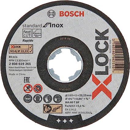 Bosch Professional 2608600541 Mola da Taglio per Troncatrici Metallo e Acciaio 230 X 6 Mm