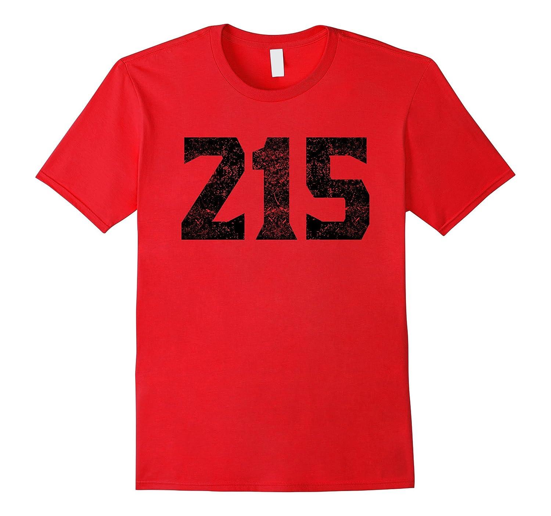 215 Area Code Philadelphia PA Graphic T-Shirt-TH