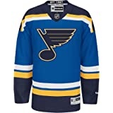 St. Louis Blues Reebok Premier Replica Home NHL Hockey Jersey
