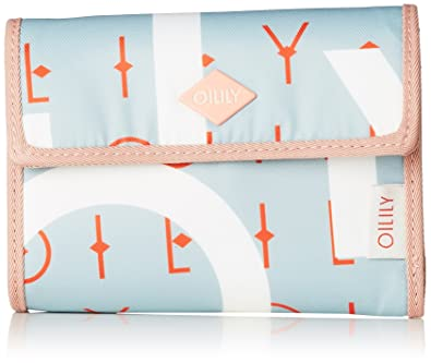Oilily - Groovy Letters Purse Mh10f, Carteras Mujer, Azul (Light Blue),