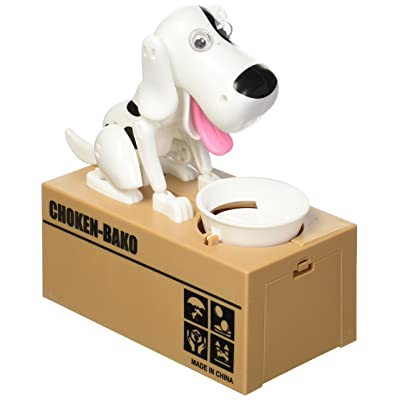 LOBZON Automated Puppy Stealing Coin Bank