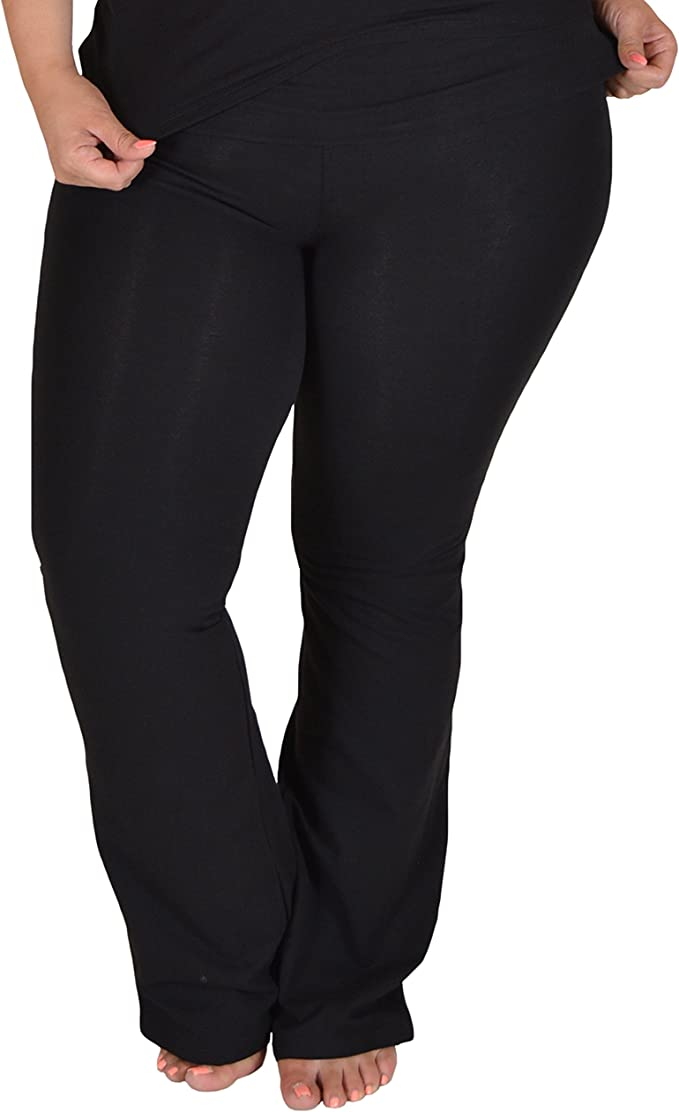 Amazon.com: Stretch Is Comfort - Pantalones de yoga ...