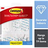 Command 17232-ES Clear Variety Kit Hangs up to 19 Items