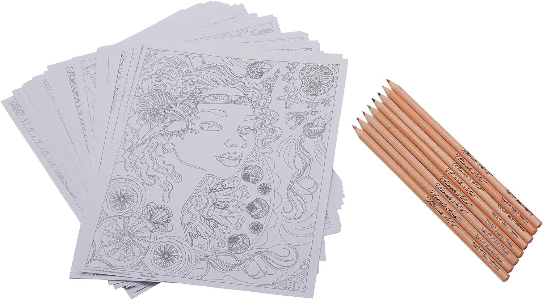 RoseArt Ultimate Artist Color Portfolio Series Pencils