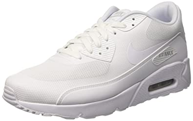 wholesale dealer b50bf a5784 Nike Men's Air Max 90 Ultra 2.0 Essential Running Shoes, Bianco, Multicolor  (White