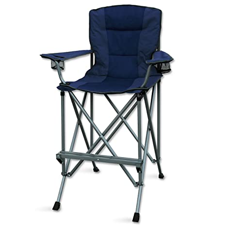 Amazon.com: RMS Outdoors Extra Tall Folding Chair - Bar ...