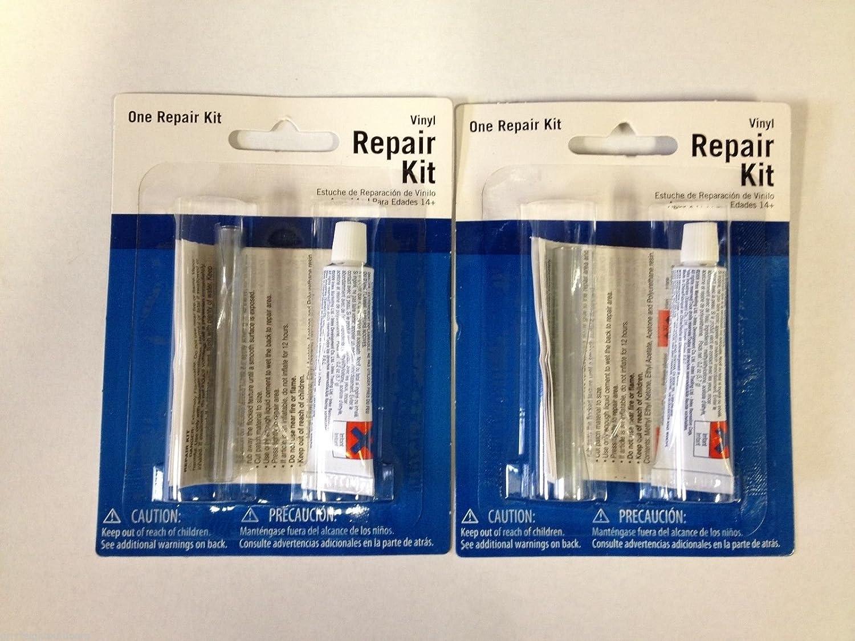 Intex Patch Kit Repair Wet Set Vinyl 2 Plastic Puncture Hole Float Swim 59633W