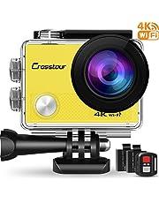 Crosstour Action Cam 4K 16MP WIFI Camera (CT9000-Y)