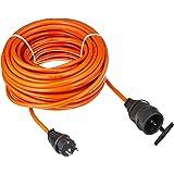 Brennenstuhl XYMM 3G1,5 25m Naranja - Cable (25 m, Macho/Hembra, Naranja)
